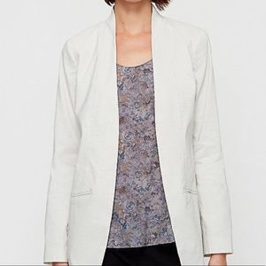 Eileen Fisher Open Front Blazer
